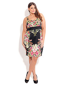 MIAMI BLOOM DRESS by City Chic
