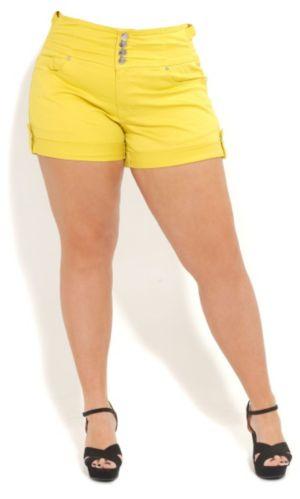 High Waist Short Shorts