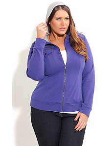 Cool Cobalt Hoodie by City Chic