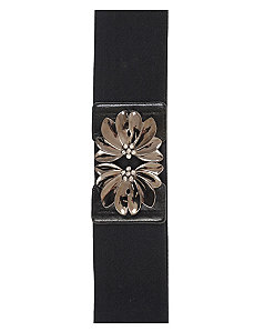 Flower Buckle Belt by City Chic