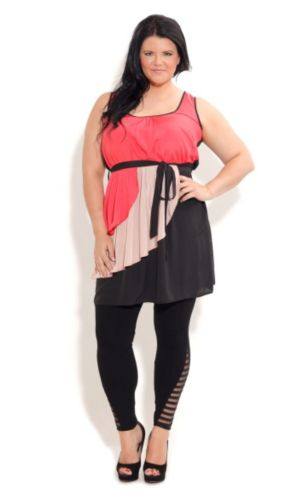 Contrast Layer Tunic