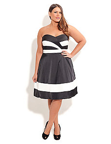 Chloe Classic Dress by City Chic