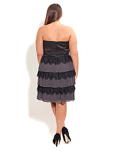 Tiered Tara Dress by City Chic