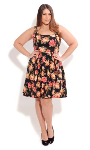Rose Bloom Dress