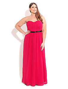 Brittany Beaded Maxi by City Chic