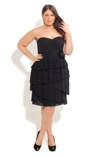 Polly Pleat Dress