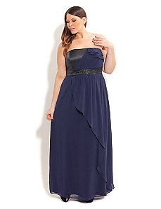 Marine Mandy Maxi by City Chic