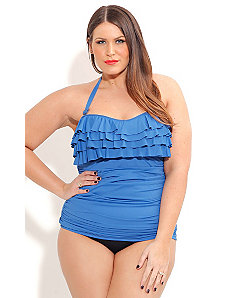 Flamenco Tankini by City Chic