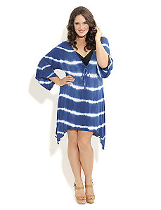 Knit Tie Die Kaftan by City Chic