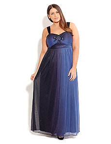 Sparkle Sophia Maxi by City Chic