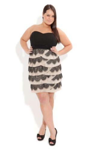 Frill Pleat Dress