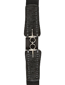 Cross Buckle Belt by City Chic