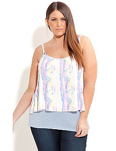 WaterColor Layer Top by City Chic