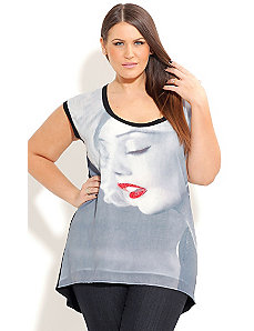 Screen Siren Top by City Chic