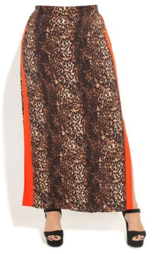 Animal Maxi Skirt