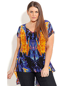 Inferno Top by City Chic