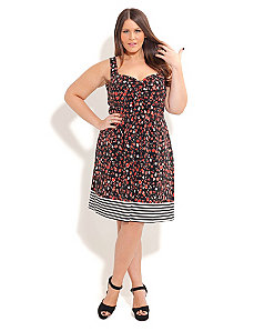 Cherry Charm Dress by City Chic