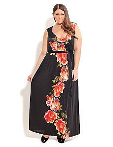 Garden Bloom Maxi by City Chic