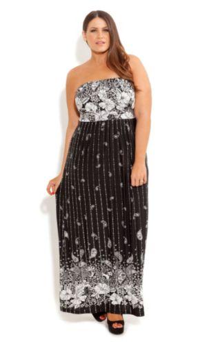 Paisley Metallic Dress