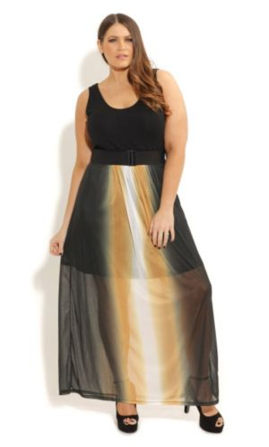 So Cute Ombre Maxi