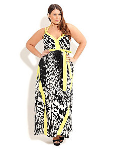 Feather Play Maxi by City Chic