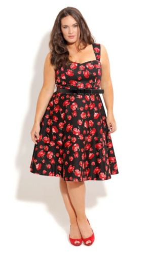 Poppy Posey Dress