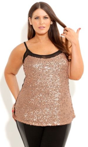 Sequin Shimmer Top