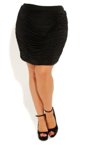 Super Rouched Skirt
