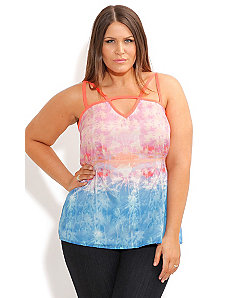 Strappy Tropics Top by City Chic