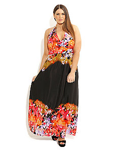 Tropicana Maxi Dress by City Chic