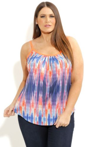 Colorwash Strappy Top