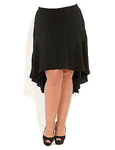 Hi Lo Hem Skirt by City Chic