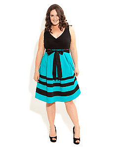 So Cute Color Dress by City Chic