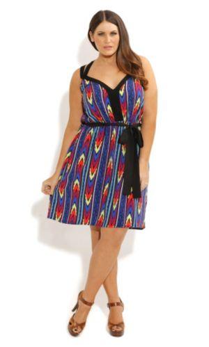 Hot Aztec Dress