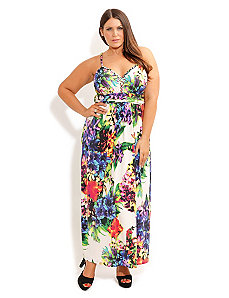 Tropical Bloom Maxi by City Chic