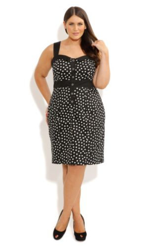 Miss Polka Dot Dress