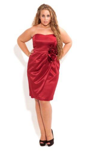 Rosette Ruby Dress