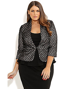 Miss Lacey Jacket by City Chic