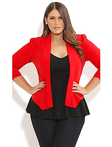 Miss Poppy Jacket by City Chic