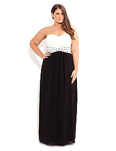 Contrast Camilla Maxi by City Chic