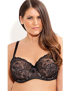 Savoy Underwire Bra by City Chic