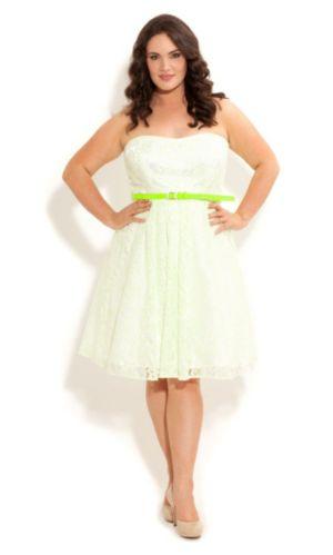Neon Lace Dress