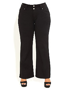 Column Wide Jeans Regular by City Chic