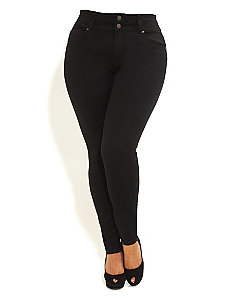 Hourglass Skinny Jeans Regular by City Chic