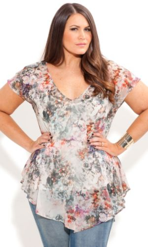 Whisper Floral Top