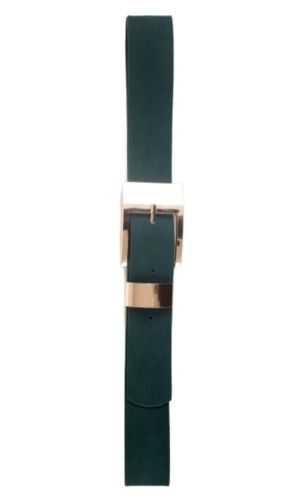 Color Suede Belt