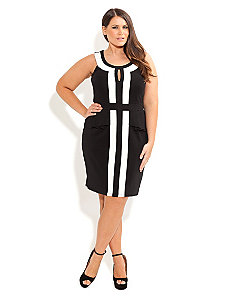 City Sass Dress by City Chic