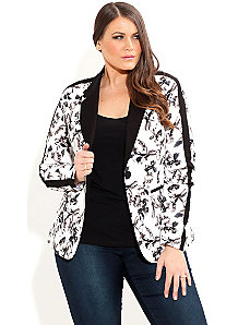 Floral Bloom Jacket by City Chic