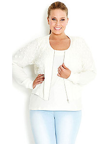 Pretty Petal Jacket by City Chic