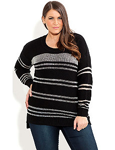 Metallic Mayhem Jumper by City Chic